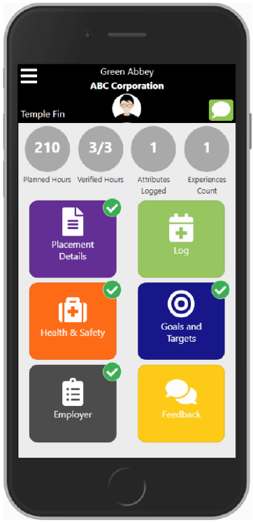 Grofar Work Placement Platform Mobile Student App